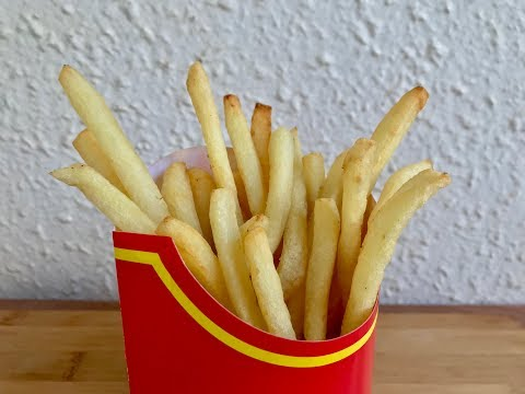 How to make perfect Crispy French fries | McDonald's French Fries Recipe at Home