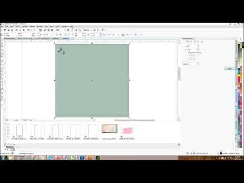 Making repeating patterns with CorelDraw