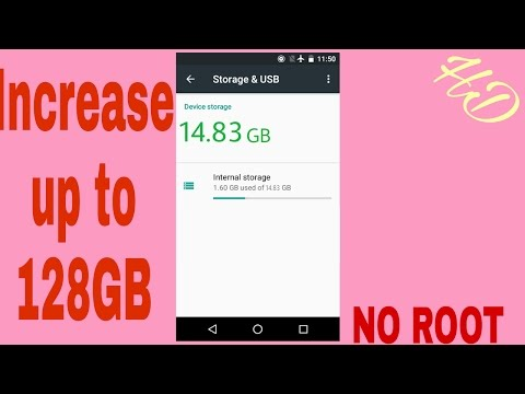 Increase Internal Storage with SD Card || More Storage on Android
