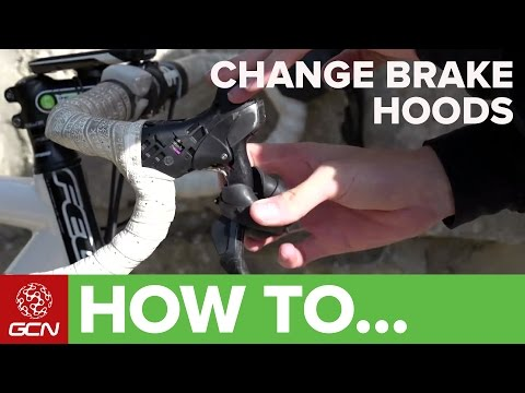How To Change Shimano STI Lever Hoods