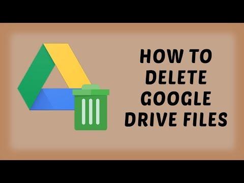 How To Delete Google Drive Files | Google Drive Tutorials In Hindi