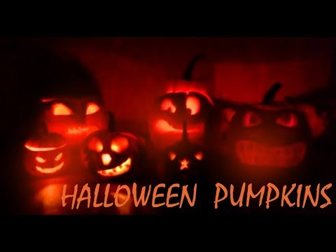 Carving Pumpkins Incredible faces Halloween | Jack o' Lantern