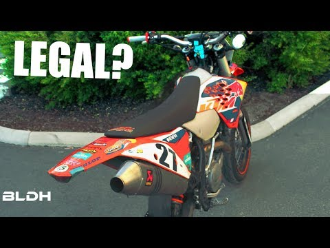 IS MY KTM STREET LEGAL? | EXC Supermoto | BLDH