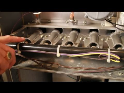 Troubleshooting Gas Furnace Burners : Furnaces & Water Heaters