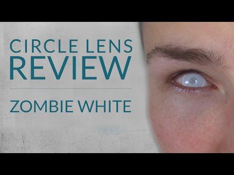 Zombie White - Circle Lens Review