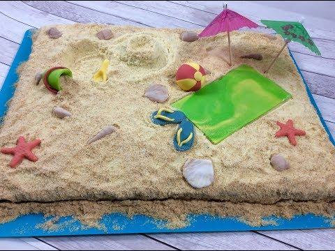 Sunny Beach Cake