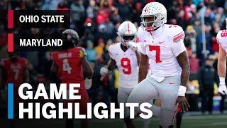 Highlights: Ohio State at Maryland | Big Ten Football