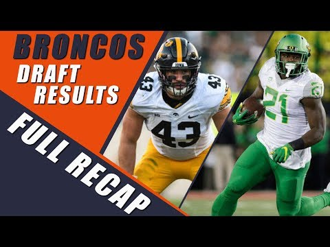 Denver Broncos NFL Draft Results 2018