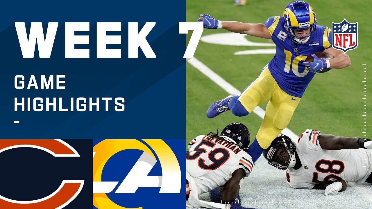 Bears vs. Rams Week 7 Highlights   NFL 2020