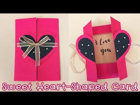 Easy Pop-up Card for Boyfriend / Girlfriend | Sunny DIY