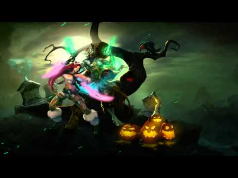 The Harrowing 2010 Login Screen - League Of Legends Animation Theme Intro Music Song Official