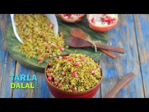 ओटस् भेल Oats Bhel, Healthy Snack for Kids by Tarla Dalal