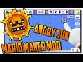 Download The Angry Sun in Super Mario Maker - SMM Mod MP3,3GP,MP4