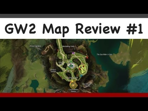 Guild Wars 2 - The Grove and Caledon Forest map review