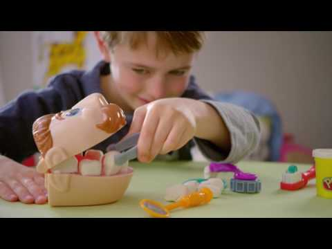 PlayDoh Doctor Drill N Fill, družabna igra zobar Hasbro