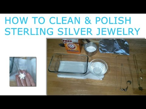 How to Clean and Polish Sterling Silver Jewelry - Do it Yourself