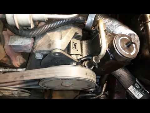 Easiest Way to Remove Serpentine Belt on '88 Jeep Cherokee