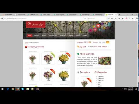 Building eCommerce Store Using Spring MVC and Spring Data JPA in Spring Boot - Part 8 - Checkout