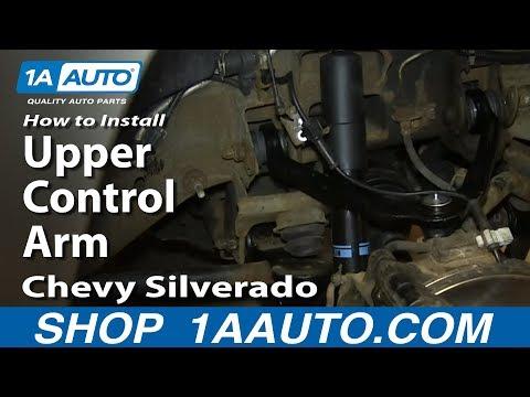 How To Install Replace Upper Control Arm 2000-06 Chevy Silverado Suburban Tahoe GMC Sierra Yukon