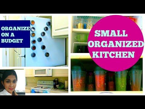 Indian kitchen organization ideas | Small Indian Kitchen | kitchen tour video