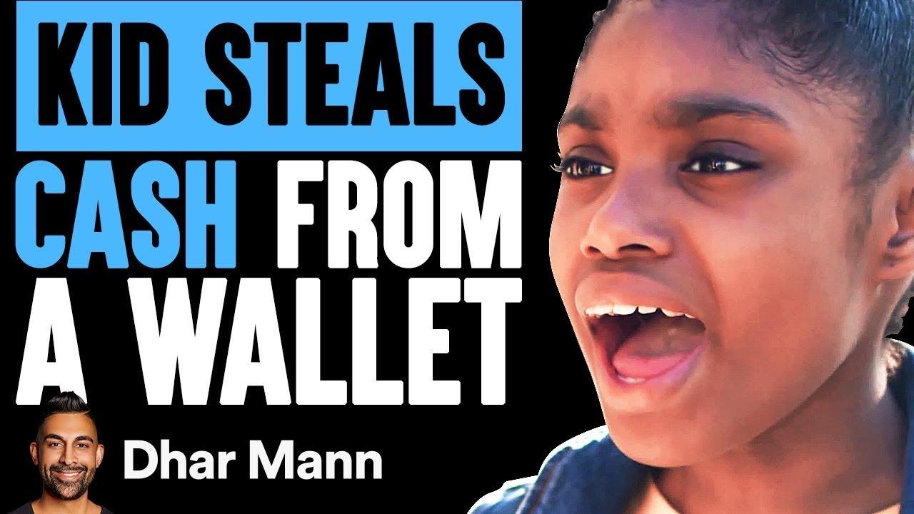 Kid Steals Money From A Wallet, Stranger Teaches Her A Lesson | Dhar Mann