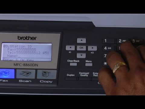 Fax Machines & Printers : How to Program a Fax Machine