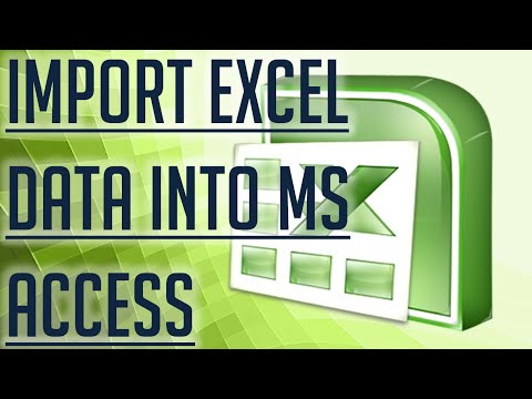 [Free Excel Tutorial] IMPORT EXCEL DATA INTO MS ACCESS - Full HD