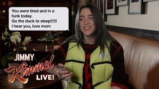 Celebrities Read Texts from Their Moms #2
