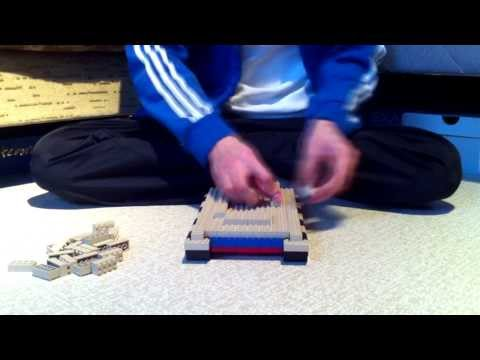 Building Lego Military Tank
