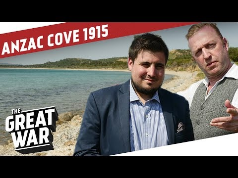The Landings At ANZAC Cove And Suvla Bay 1915 I THE GREAT WAR On The Road