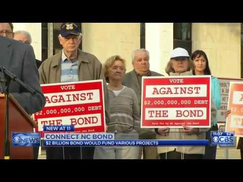 Opponents speak out against $2 billion NC bond plan on ballot