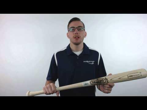 Louisville Slugger Pro Stock Ash M110  Unfinished Flame Wood Baseball Bat: WBPS110-UF Adult
