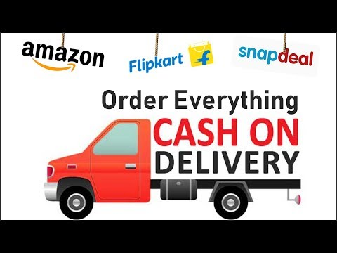 Amazon.in/com - How to Order Products on Cash on delivery