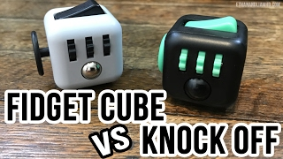 Download Authentic Fidget Cube vs Knock-Off : Unbox and Review Video