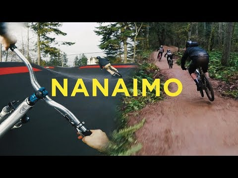 Riding a Downhill Pumptrack with Pro Freeriders