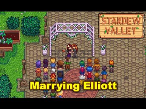 Stardew Valley - Marrying Elliott