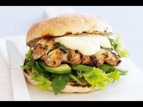 Chicken Fillet Burger recipe