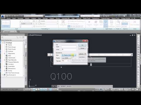 Autocad: How to use subscript and superscript in your text