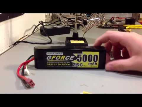 How To Change an RC Battery Connector