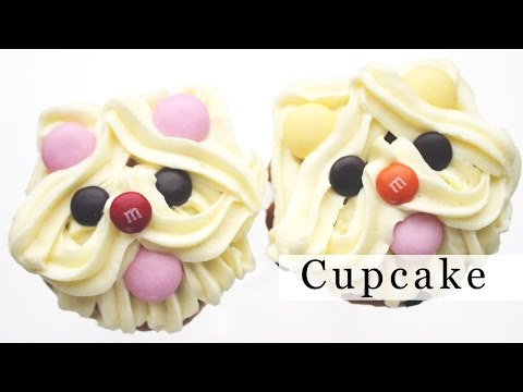 Puppy Dog Cupcake Deco 강아지 컵케익