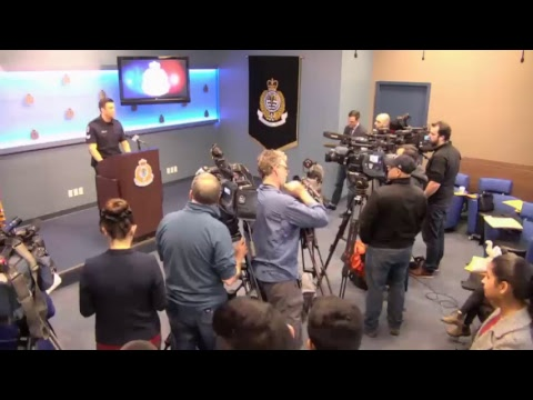 Vancouver Police Press Conference: Canada-Wide Warrant for Man Following Serious Assault