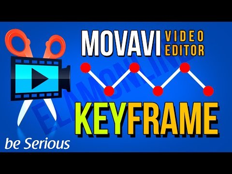 How To Create Easy Keyframe Animation In Movavi Video Editor | Animate Any Object