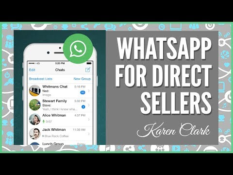WhatsApp for Direct Sellers: Group Texting for Direct Sales Leaders