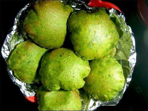 Palak Puri Recipe in Hindi   पालक पूरी बनाने की विधि   Spinach Puri Recipe