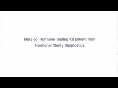 HRT, Menopause Symptoms, Hormone Imbalance Hormonal Clarity Diagnostics Saliva Test & Hormone Levels