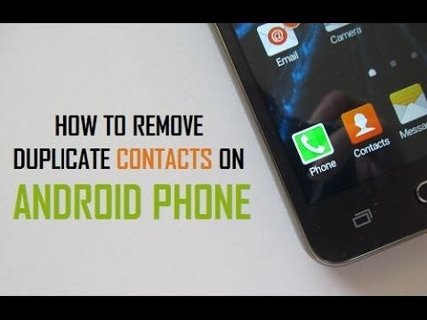How to Delete Duplicate Contacts on Android in Just One Click