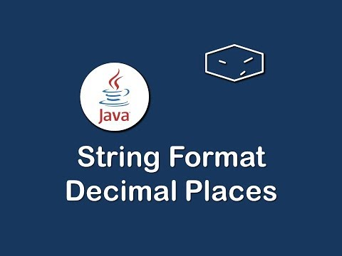string format decimal places in java
