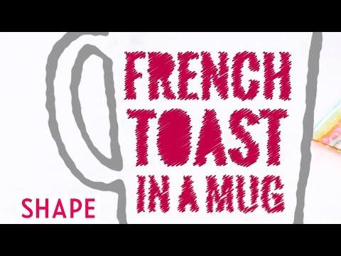 Breakfast Mug Recipes: French Toast