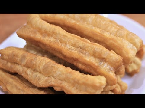 Make perfect Youtiao at home Chinese fried bread stick/ donut