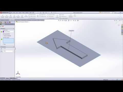 SolidWorks Indent Feature